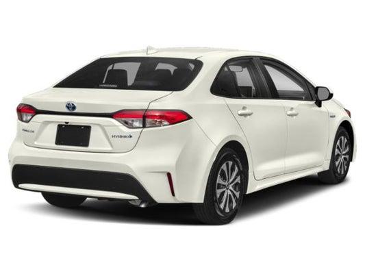 Toyota Corolla Size >> 2020 Toyota Corolla Hybrid Le