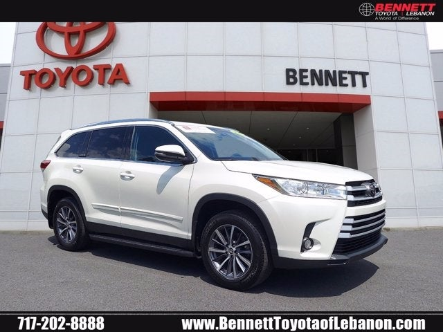 Toyota Lebanon Pa >> 2019 Toyota Highlander Xle Toyota Dealer Serving Lebanon Pa New