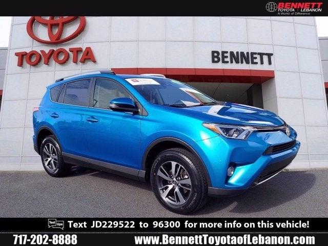 Toyota Lebanon Pa >> 2018 Toyota Rav4 Xle Toyota Dealer Serving Lebanon Pa New And